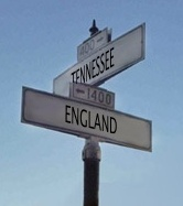 signpost to Tennessee