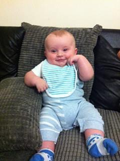Sam at 3 months - 2